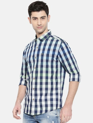 Multicolor cotton casual shirt - 15731546 - Standard Image - 2