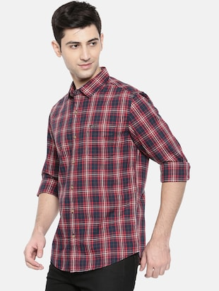 multicolor cotton casual shirt - 15731551 - Standard Image - 2