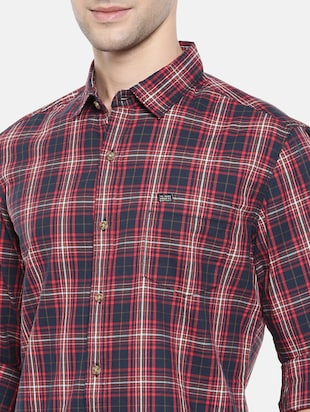 multicolor cotton casual shirt - 15731551 - Standard Image - 5