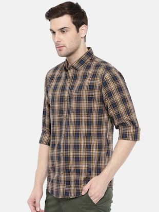 multi colored cotton casual shirt - 15731552 - Standard Image - 2