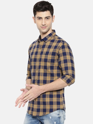 multicolor cotton casual shirt - 15731602 - Standard Image - 2