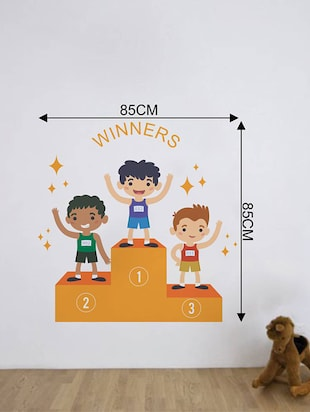 Rawpockets Wall Decals ' Champions '  Wall stickers (PVC Vinyl) Multicolour - 15733762 - Standard Image - 2
