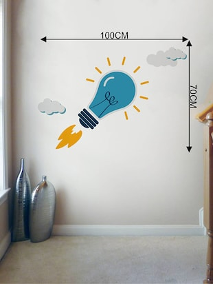 Rawpockets Wall Decals ' Office Wall Stickers : Start Up Innovative Idea '  Wall stickers (PVC Vinyl) Multicolour - 15733847 - Standard Image - 2
