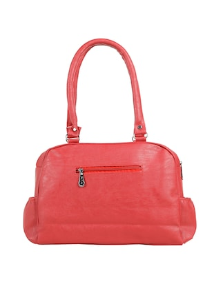 red leatherette (pu) regular handbag - 15737058 - Standard Image - 2