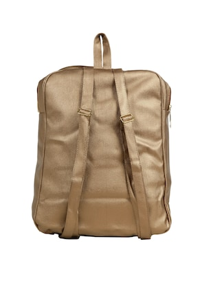 brown leatherette (pu) fashion backpack - 15737534 - Standard Image - 2