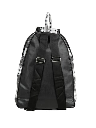 black leatherette (pu) fashion backpack - 15737546 - Standard Image - 2