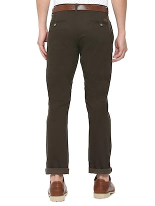 brown cotton chinos - 15737584 - Standard Image - 2