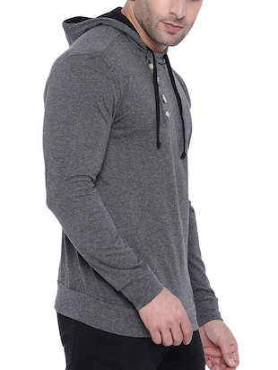 grey cotton t-shirt - 15739179 - Standard Image - 2