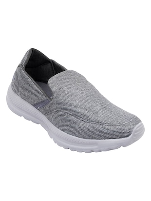 grey Mesh slip on sport shoes - 15739503 - Standard Image - 2
