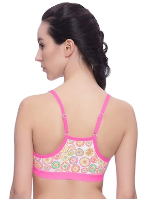 Set of 2 leaf print bras - 15745432 - Standard Image - 5