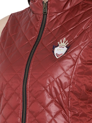 quilted & padded sleeveless jacket - 15748098 - Standard Image - 5