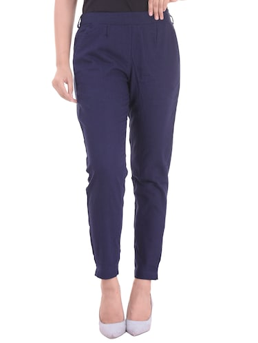 9b2137ee44a6f Trousers For Women - Upto 70% off