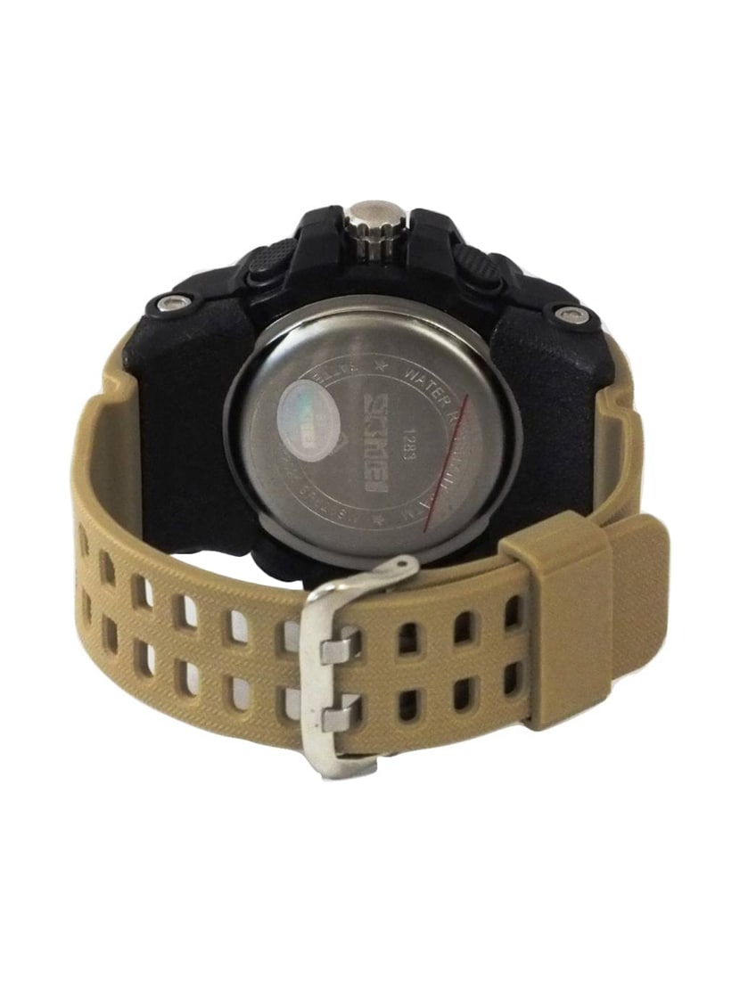 4e03b479056db ... Skmei 1283 khaki Digital and Analog Watch - 15805583 - Zoom Image - 2