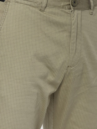 green cotton chinos - 15815351 - Standard Image - 5