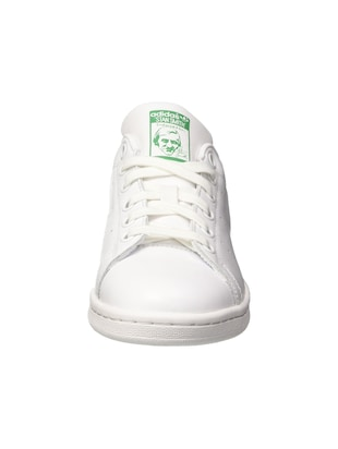 white Leather lace up sneakers - 15825590 - Standard Image - 2
