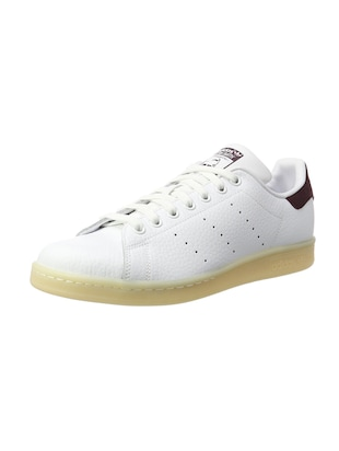 white Leather lace up sneakers - 15825594 - Standard Image - 2