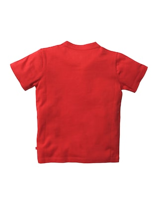 red cotton tshirt - 15834460 - Standard Image - 2