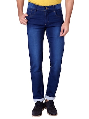multi colored denim washed jeans - 15863361 - Standard Image - 2