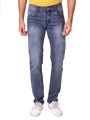 multi colored denim washed jeans - 15863361 - Standard Image - 5