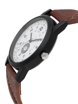 leather strap analog watch (LR-11) - 15865028 - Standard Image - 2