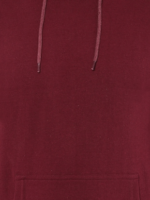 red cotton sweatshirt - 15901841 - Standard Image - 5