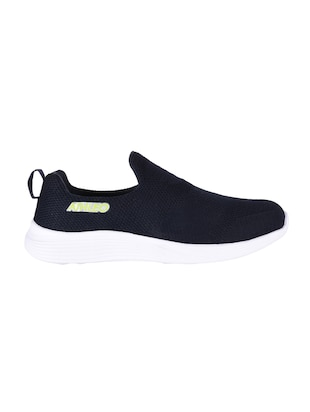 navy Fabric slip on sport shoes - 15903982 - Standard Image - 2