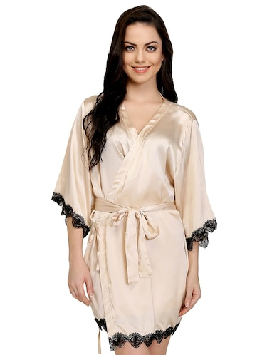 Buy Laced Sleepwear Robe by Prettysecrets - Online shopping for ... fc4e2d4b7