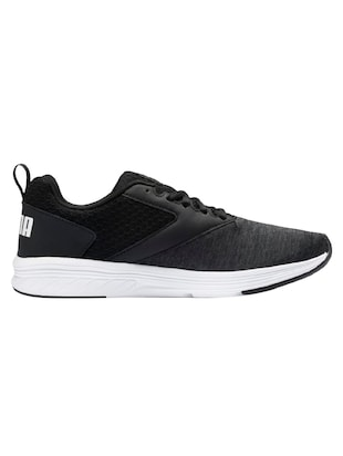 black Fabric sport shoes - 15914856 - Standard Image - 2