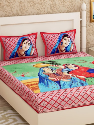 Bed Sheets Upto 70 Off Single Double King Size Bedsheets At Limeroad