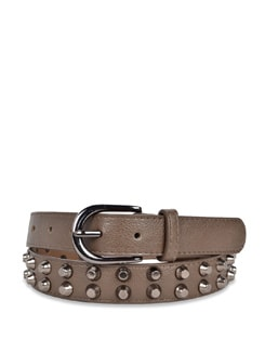Funky Khaki Color Belt - Carlton London
