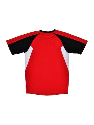 red cotton tshirt - 15964686 - Standard Image - 2