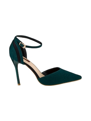 green ankle strap sandals - 15973403 - Standard Image - 2