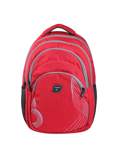 Buy Red Polyester Backpack by My Pac Db - Online shopping for ... 1524dabae483d