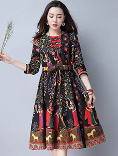 Knee length dresses - Buy Knee length dresses Online at Best Prices in  India - LimeRoad.com 9a80c18e5