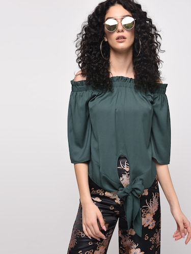 653a1b5a409023 Buy forever 21 off shoulder tops in India   Limeroad