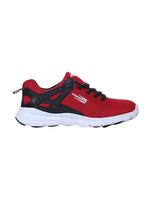 red mesh sport shoes - 16097486 - Standard Image - 2