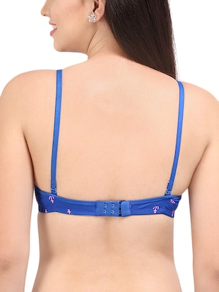 bow patch quirky t-shirt bra - 16120393 - Standard Image - 2