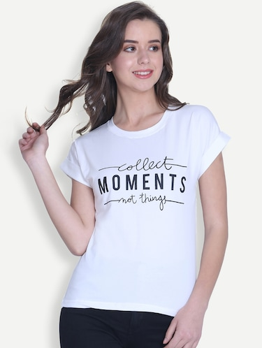 fb771982279 T Shirts for Women - Upto 70% Off | Buy Womens Designer Printed T ...