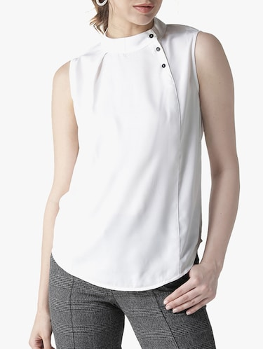 308e0c918c44b White tops - Buy White tops Online at Best Prices in India ...