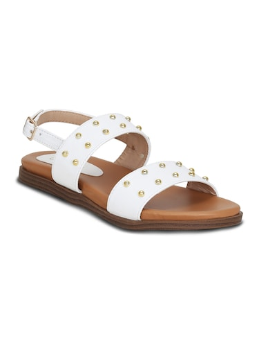 e477eba69f4 Buy White Gladiators Sandal for Women from Sherrif Shoes for ₹1042 at 45%  off