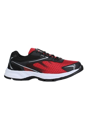 red mesh sport shoes - 16191168 - Standard Image - 2