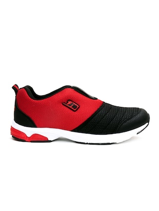 red mesh sport shoes - 16191317 - Standard Image - 2