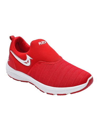 red mesh sport shoes - 16195555 - Standard Image - 1