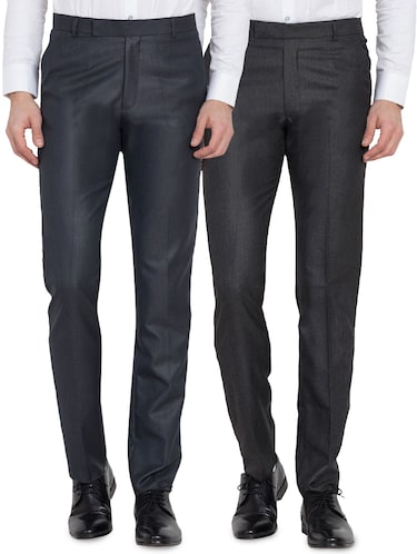 12a072696 Formal Trousers | Buy Stylish Formal Pants for Men at Limeroad