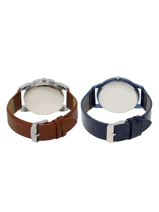 set of 2 analog watch combos(AD-01-LK-33) - 16211120 - Standard Image - 2