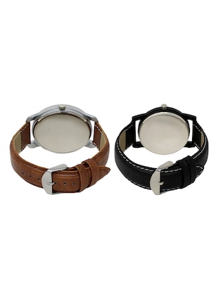 set of 2 analog watch combos(AD-02-LK-05) - 16211180 - Standard Image - 2