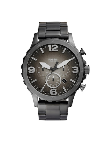 FOSSIL Grey Dial Watch For Men - JR1437 - 16223956 - Standard Image - 1