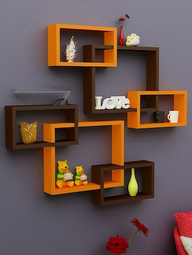 Enjoyable Buy Wooden Shelves For Wall Corner In India Limeroad Download Free Architecture Designs Osuribritishbridgeorg