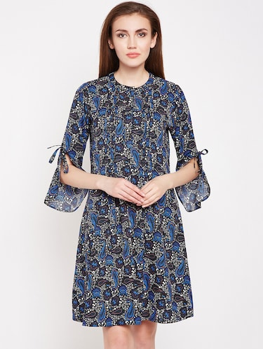 Paisley prints a line dress - 16269711 - Standard Image - 1