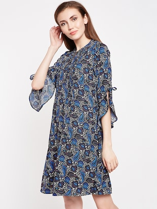 Paisley prints a line dress - 16269711 - Standard Image - 2